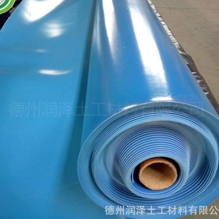 垂钓园鱼池养殖专用膜 水产养殖专用土工膜 绿色蓝色土工膜