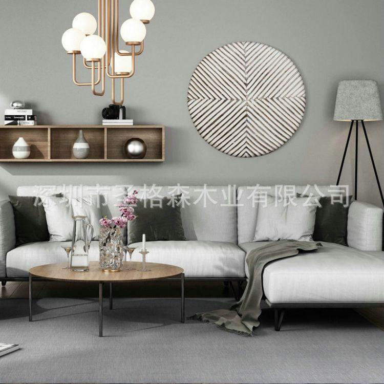 厂家推荐 实木新中式办公沙发 客厅实木沙发 欢迎订购