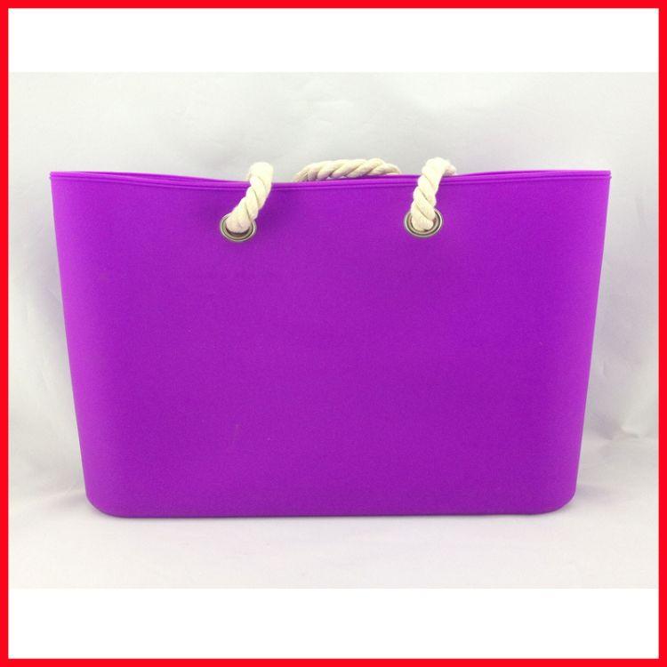大量低价供应日韩流行 硅胶手袋 硅胶购物手袋批发