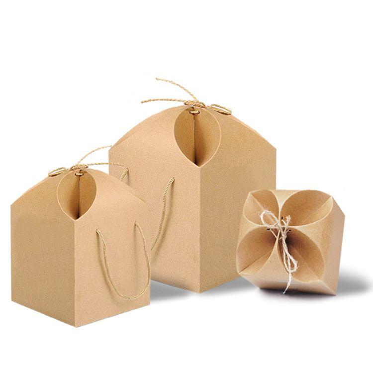 粽子包装盒月饼牛皮纸礼品盒茶叶包装农产品花瓣形盒中药食品包装