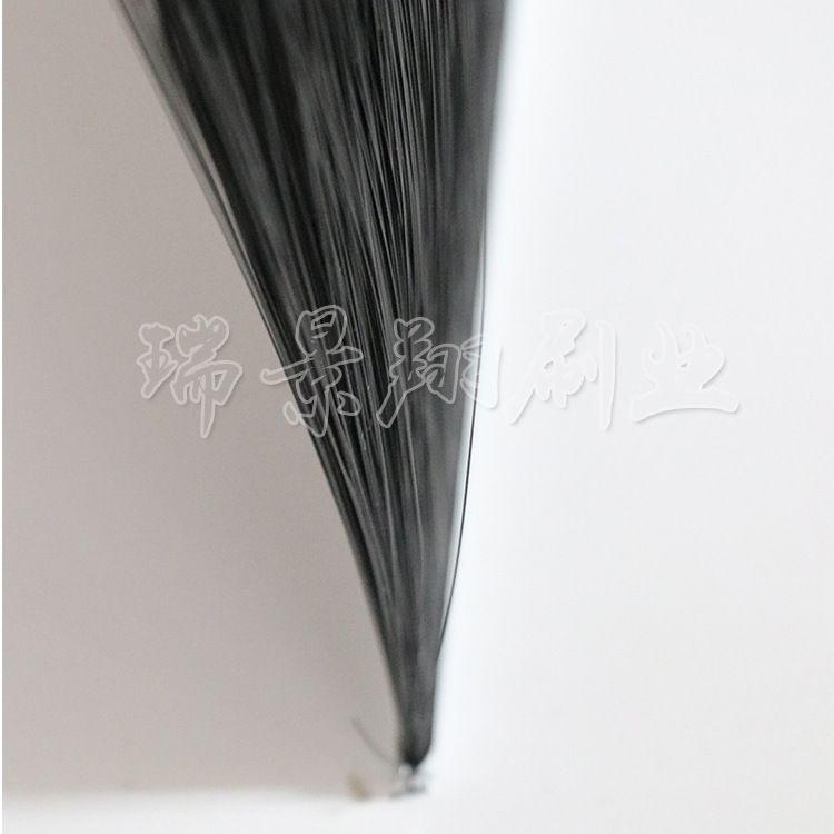 砖机条刷PVC-PP条刷木板刷耐磨工业毛刷条清洁尼龙丝密封长毛条刷