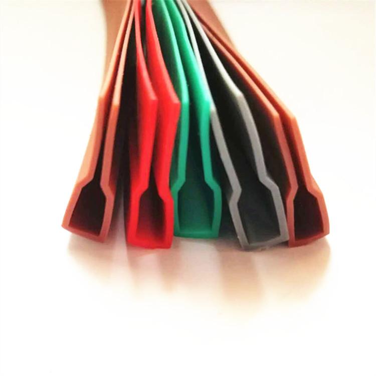 冠旭生产热熔包边条橡胶密封条     磁吸门帘边条