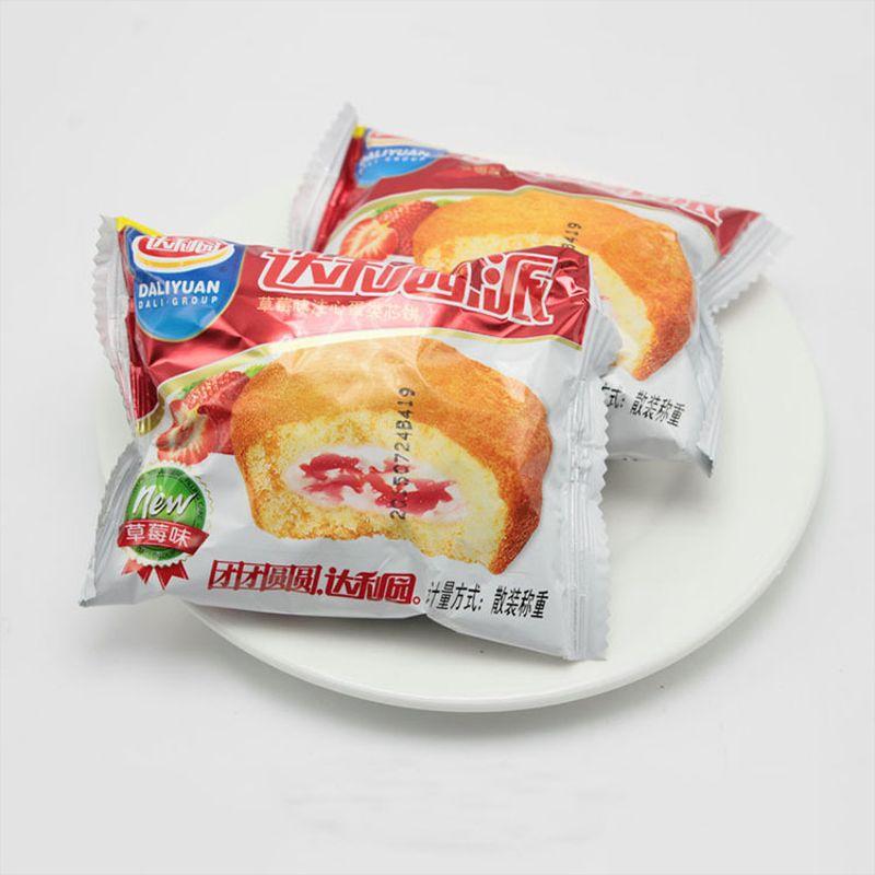 达利园早餐蛋糕糕点 蛋黄派整箱2.5kg五种口味达利园派批发
