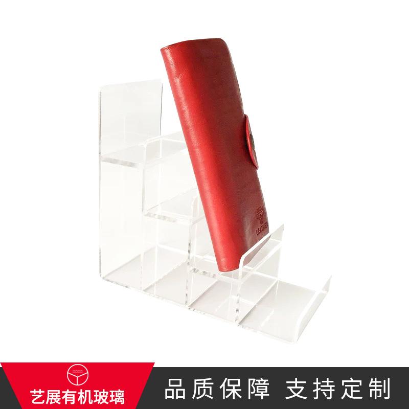 东莞定制透明亚克力制品 高档专柜商品展示架 方形亚克力相框