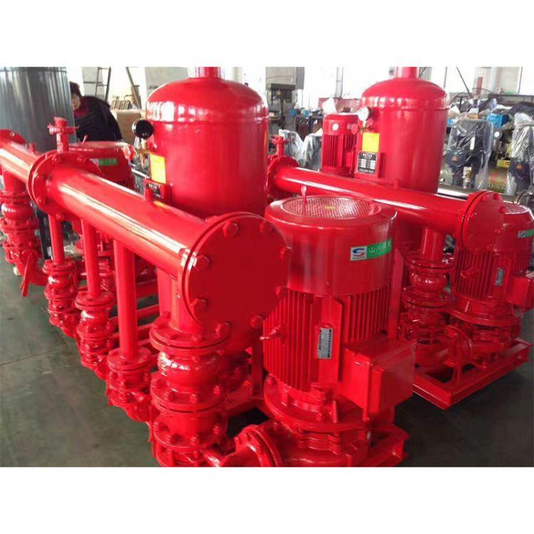 厂家直销消防气压给水设备立式消防增压设备单吸式消防水泵
