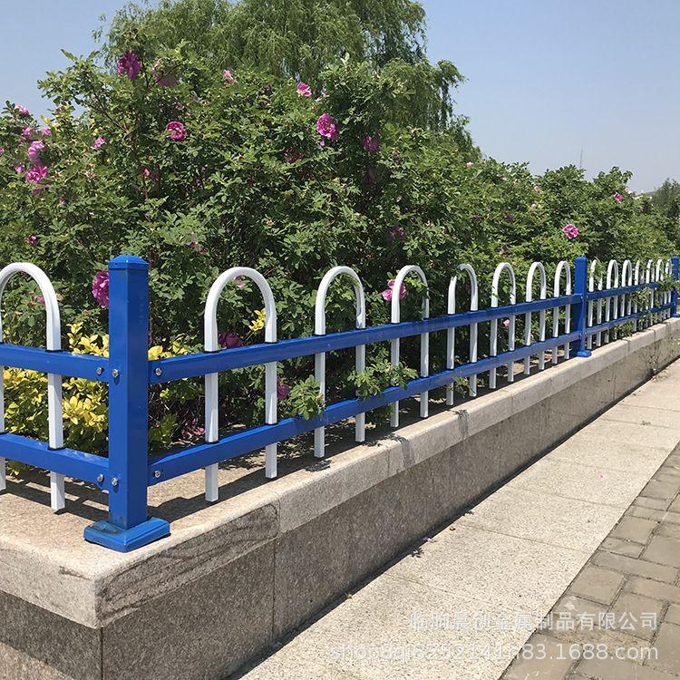 城市道路绿化围栏 公园绿化带防破坏折弯草坪护栏 乡村绿化护栏