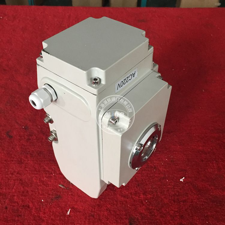 AC220V/380V DC24V 电动执行器  精小型电动头90°电装 阀门电动装置