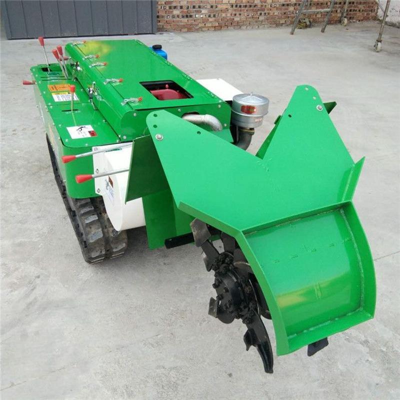 果园施肥开沟机自走式省力旋耕除草机一机多用耕整履带开沟机批发