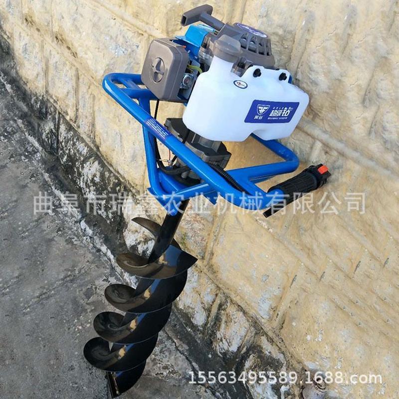 手提式植树挖坑机 悬挂式挖坑机 种树机 四轮拖拉机带动植树机