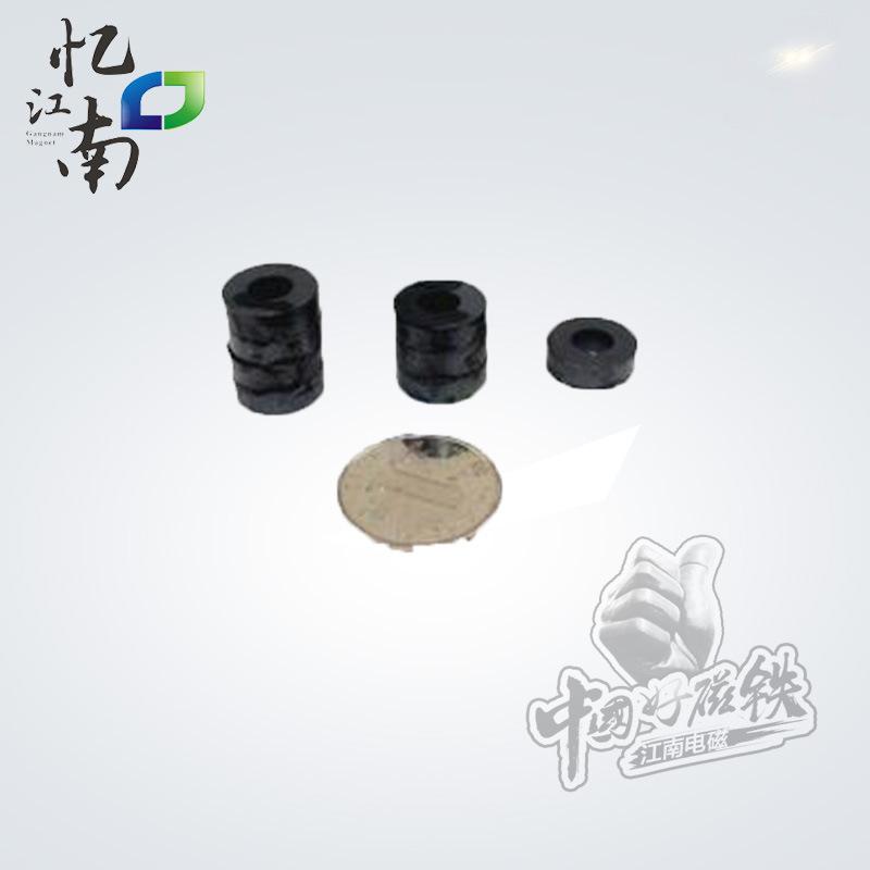 厂家热销 铁氧体磁铁 D16*7*5  永磁铁氧体磁铁 吸铁石扣