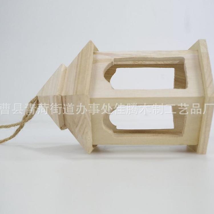创意工艺品 木制小房子 原木色精美创意小房子 定制木质工艺品