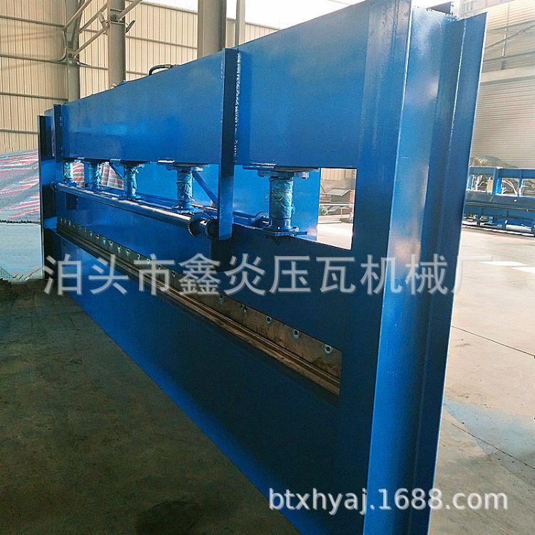 销售6米3mm折弯机 液压折弯机 液压不锈钢折弯机数控冷弯机折水槽