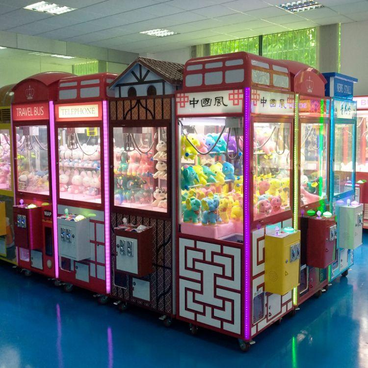 抓娃娃机厂家热销夹娃娃机夹公仔礼品娃娃机微信支付豪华娃娃机