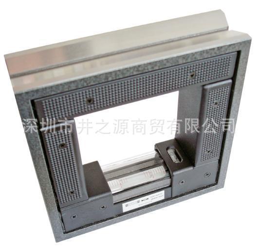 4223200框式水平仪 ROCKLE方形水平尺 200*200*0.02mm