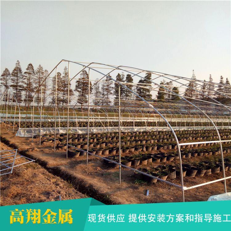 农业塑料薄膜大棚花卉连栋大棚西瓜大棚厂家可来图定制花卉大棚
