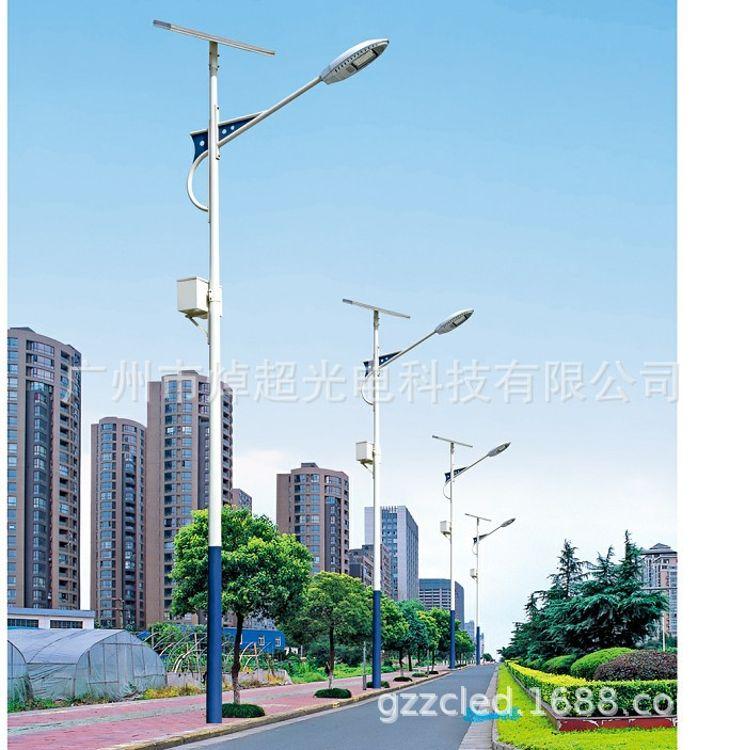 30W50W60W80W太阳能路灯 锂电池太阳能路灯 CREE太阳能路灯