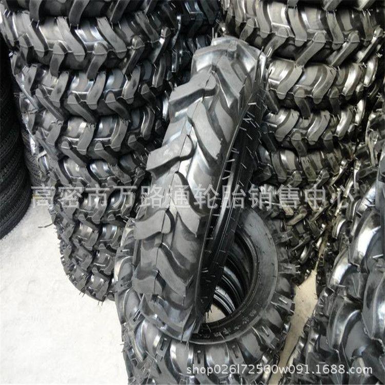 农用轮胎4.00-8人字花纹轮胎窄基喷药机植保机拖拉机微耕机旋耕机