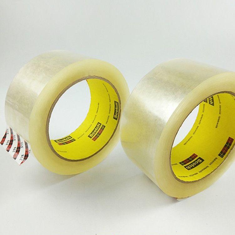 3M375胶带商 3m胶纸 3M封箱胶带 透明封箱胶带 48MM*50