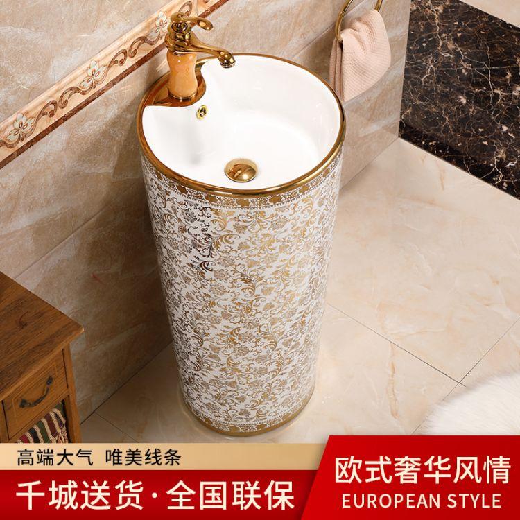 卫浴洁具 陶瓷立柱盆 卫浴洁具 厂家直销