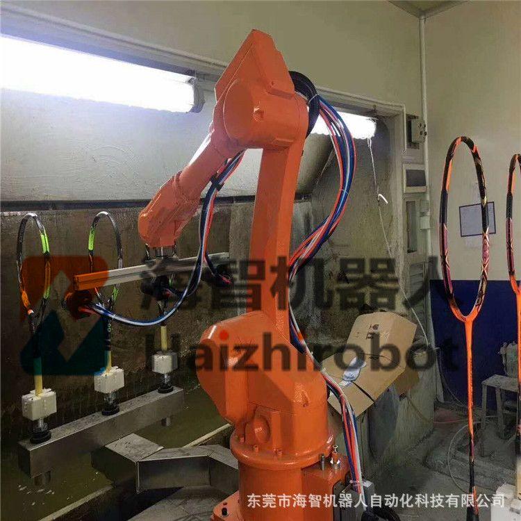 水帘柜喷房喷漆机器人 自动喷涂机械手臂设备 涂装设备机械人厂家