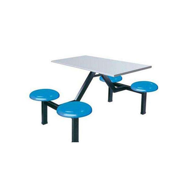 湖南批发四人餐桌椅 餐厅餐桌 玻璃钢餐桌 西安餐桌 肯德基餐桌