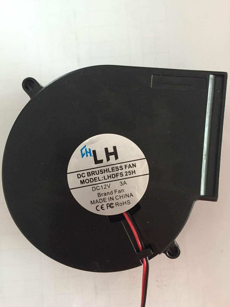 多级离心鼓风机散热工业使用DC9733鼓风机 2.94A  高温电动鼓风机