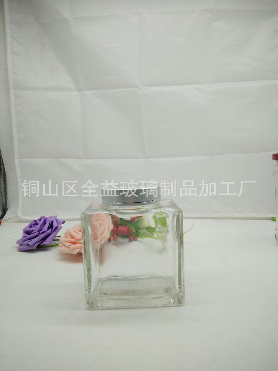 厂家直销玻璃瓶   玻璃蜂蜜瓶  高档玻璃瓶 无铅无毒 档次高