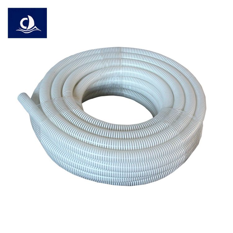 pvc塑筋螺旋管 增强透明牛筋管pvc软管 无毒无味塑料管厂家批发