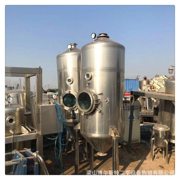 二手不锈钢单效蒸发器双效蒸发器多效蒸发器浓缩蒸发器浆膜蒸发器