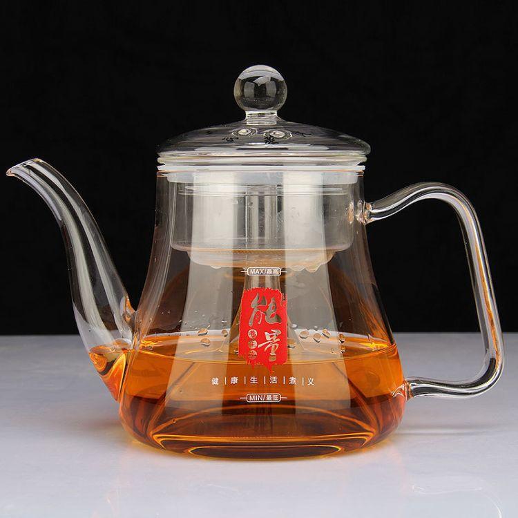 加厚玻璃煮茶壶煮茶壶创意新式泡茶壶耐热玻璃茶壶现货批发