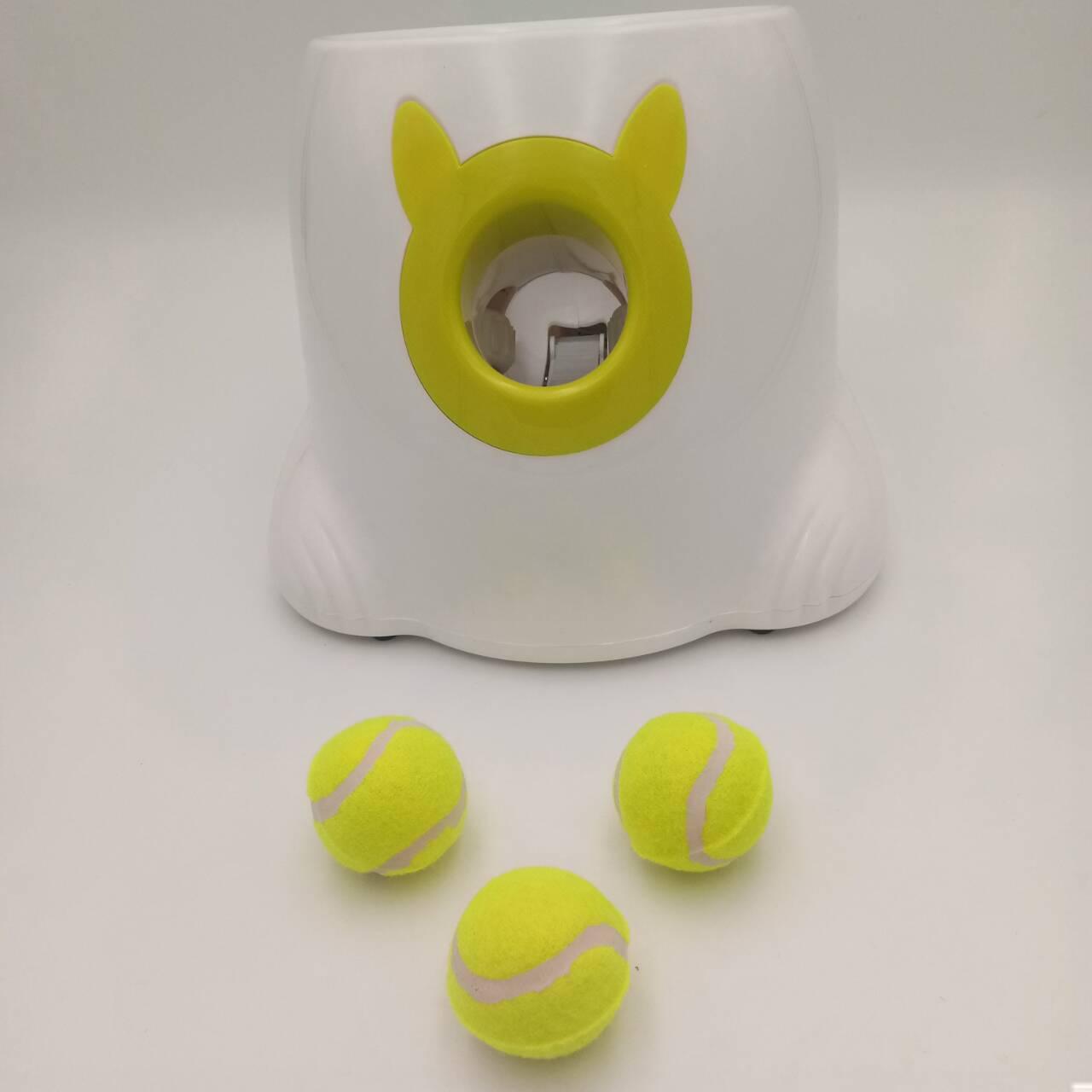 工厂直销宠物用品自动发球机宠物专用小网球发射机宠物玩具