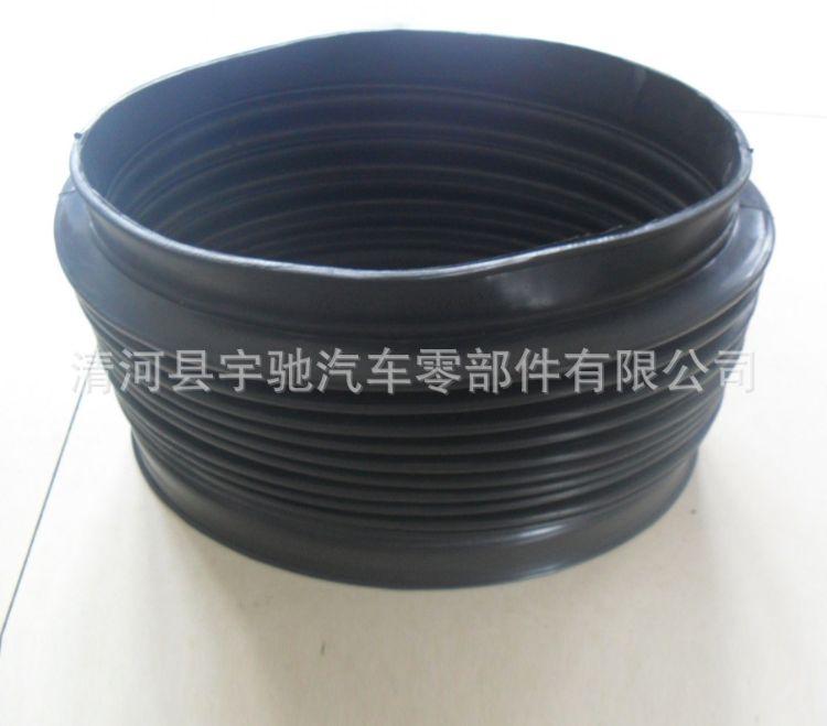 优质供应空气三元乙丙橡胶波纹管 吸气伸缩橡胶管可定制加工