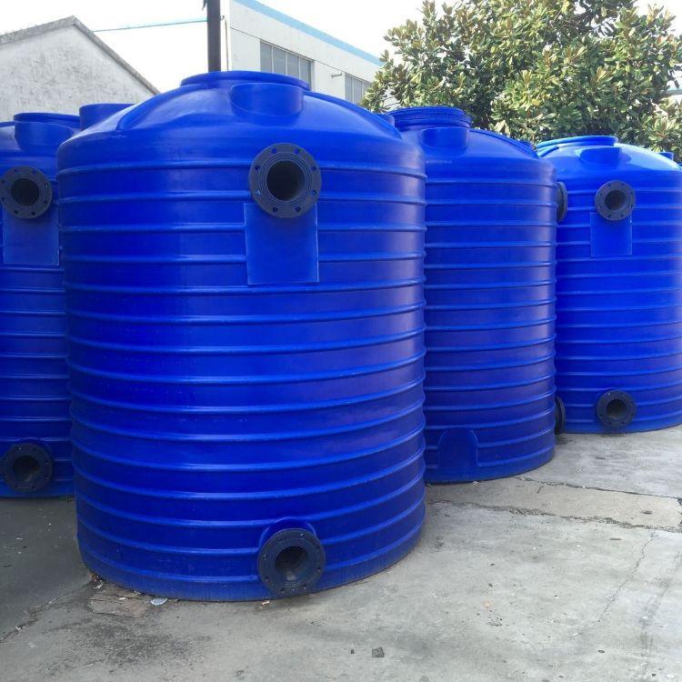 苏州5吨塑料水塔 酸碱容器化工水塔工业塑料桶 塑料储罐厂家