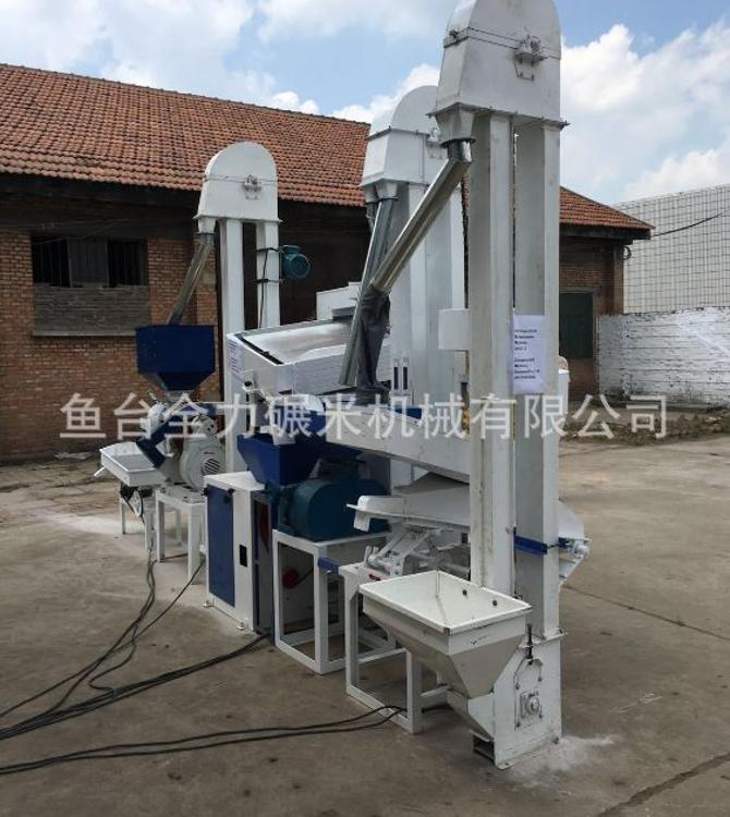 小米加工成套设备小米机械设备清理砻谷碾米机厂家直销