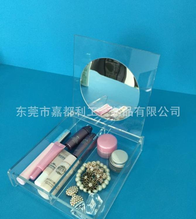 厂家直销亚克力收纳盒 亚克力糖果盒 亚克力化妆品收纳展示架定做
