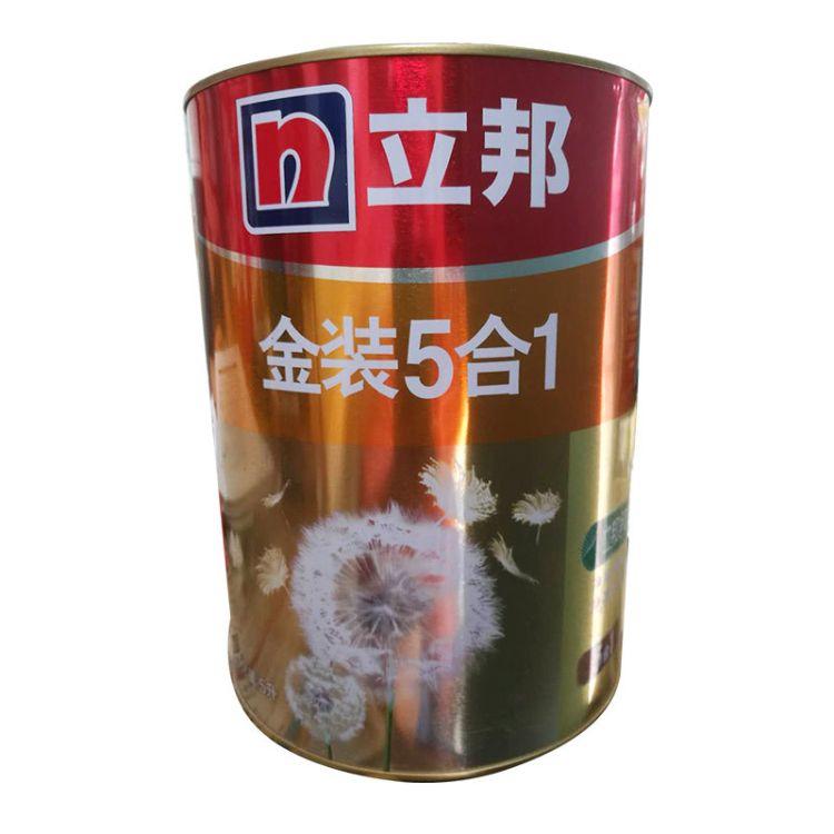 立邦漆 金装净味五合一乳胶漆内墙面漆水漆油漆涂料刷墙漆