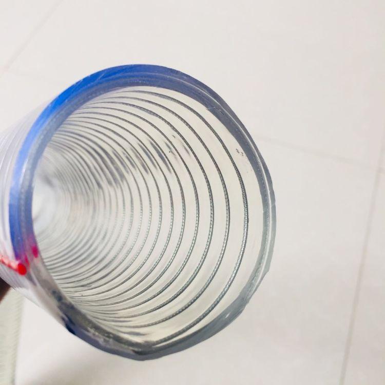 厂家批发各种规格 pvc透明钢丝管 pvc耐磨透明钢丝软管