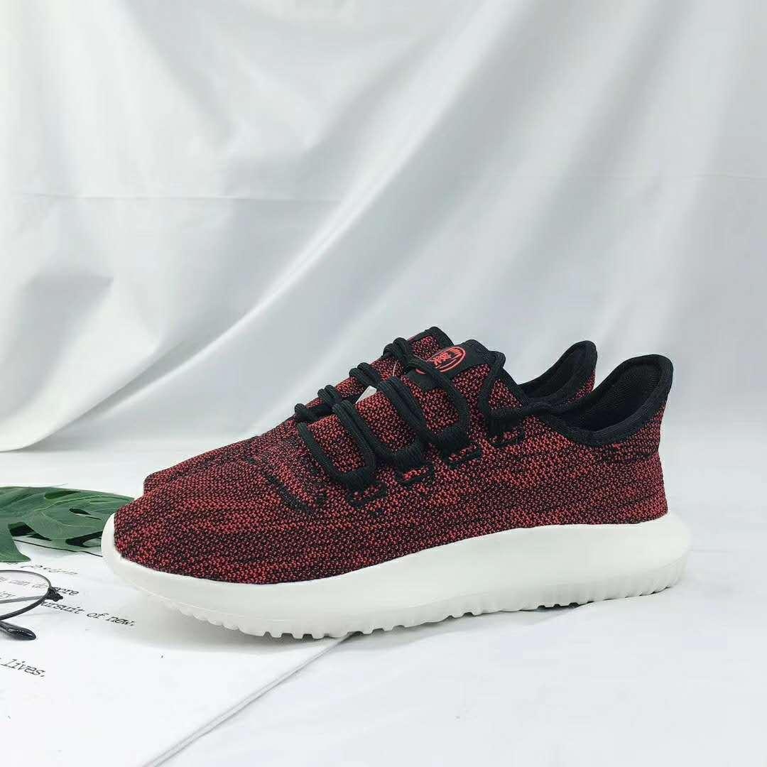 2018新款跑步鞋休闲跑步鞋韩版增高气垫鞋透气鞋飞织