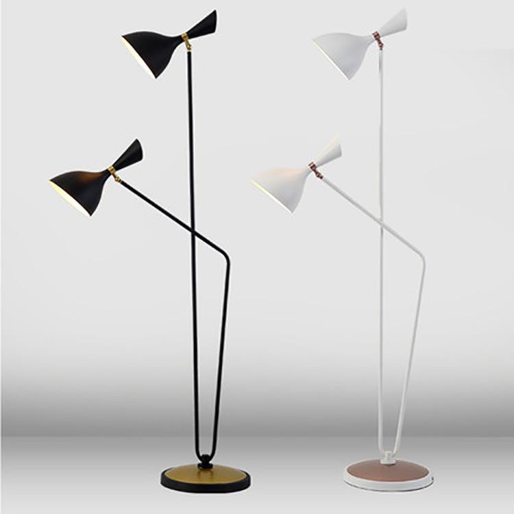 后现代北欧卧室客厅落地灯 创意简约酒店书房立式沙发床头LED灯具