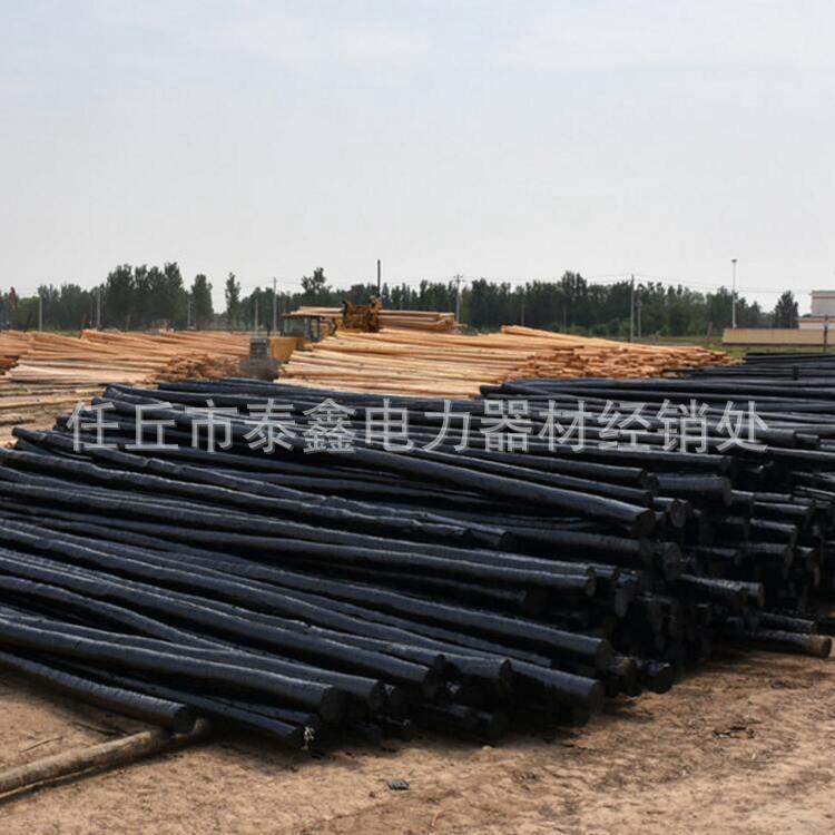 油木杆专业生产厂家直销 油木杆 防腐木杆 防腐油木杆 电线杆