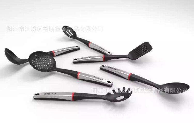 创意多功能厨具 不锈钢柄硅胶铲 不粘锅硅胶铲硅胶厨具