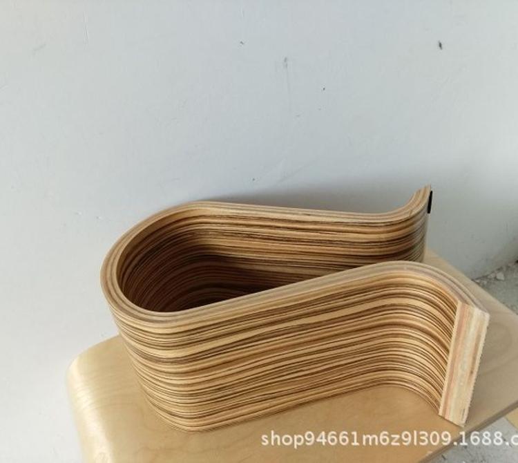 弯曲木厂家定制 各种弧度弯板 家具配件 U型弯板