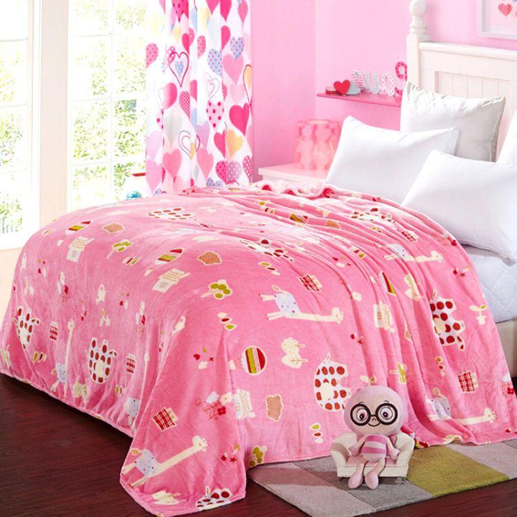 厂家直销 加厚法兰绒毛毯  保暖法莱绒毯子  珊瑚绒升级绒毯 特价