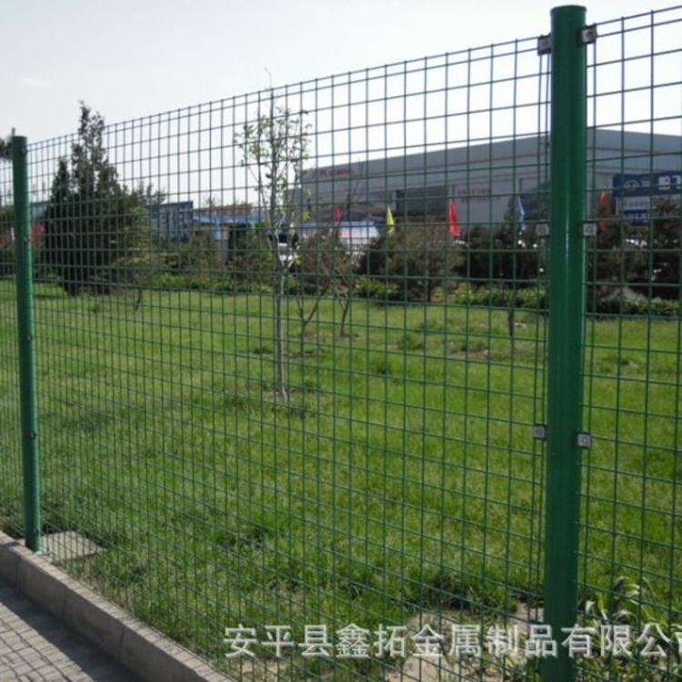 厂家供应草场绿色防护网 双边丝护栏网 生态养殖园防护厂家直销