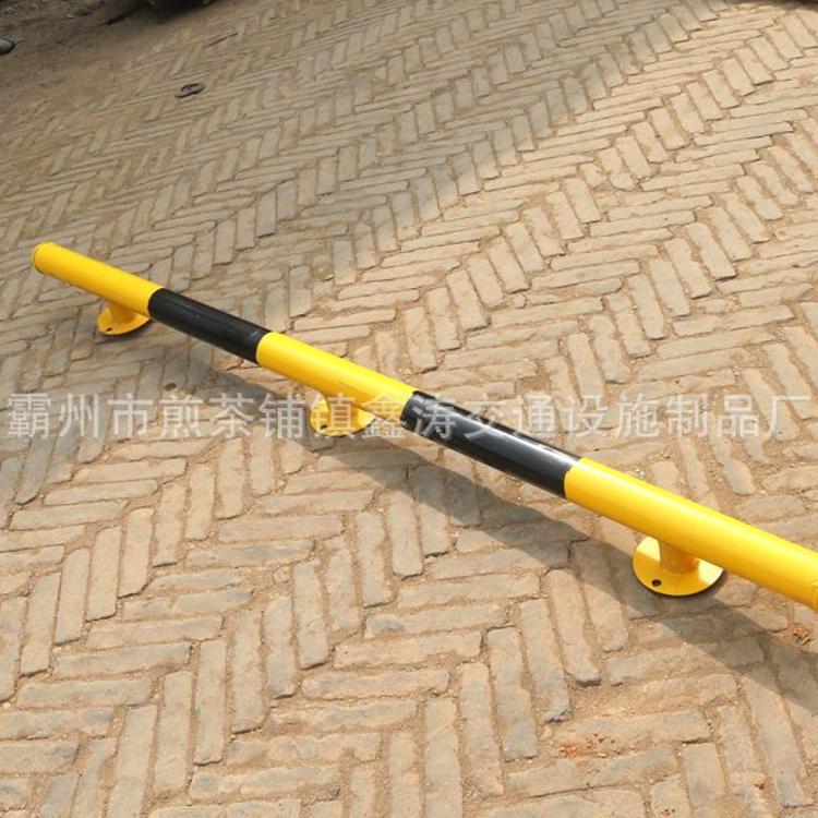 钢管车轮定位器U型 黑黄停车位限位器 车轮定位器 规格齐全