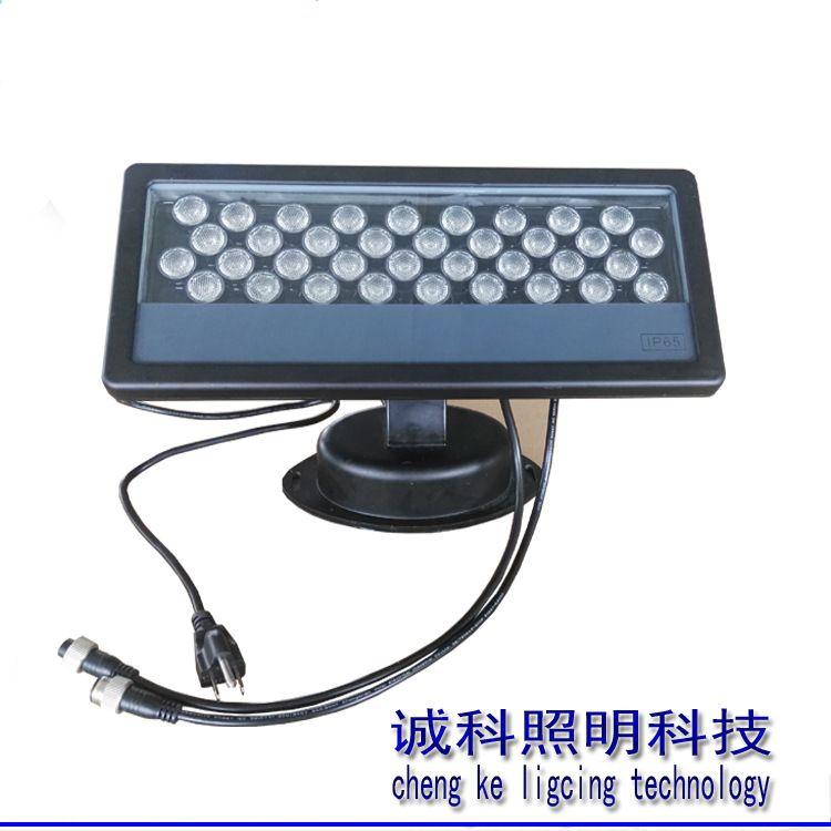现货供应36W投射洗墙灯国际标准DMX512协议控制出口品质价格优惠