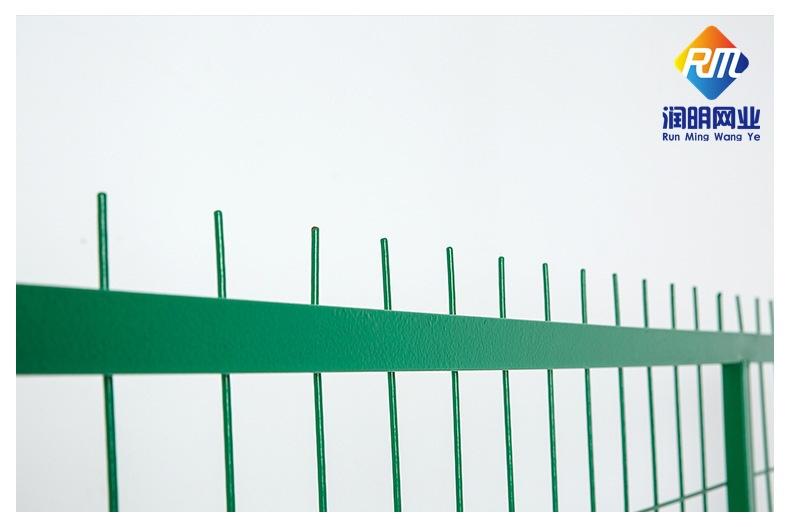 边框护栏网 框架护栏  铁路高速护栏 钢丝网孔护栏 现货 江苏苏