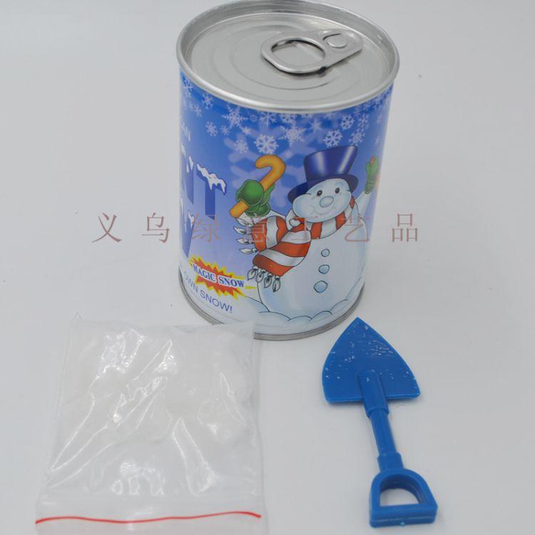 供应易拉罐人造雪 圣诞雪花 圣诞礼物罐装人造雪实力厂家直销
