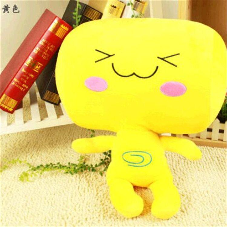 厂家批发卡通表情包子抱枕 毛绒玩具公仔玩具可爱娃娃玩偶