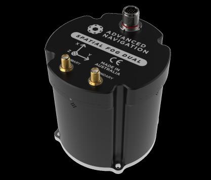 [组合导航]Spatial FOG Dual双天线光纤陀螺仪0.01°水平9mm